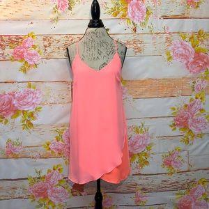 GB V-Neck Mini Dress